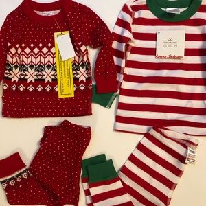 Two NWT hanna andersson holiday pajama
